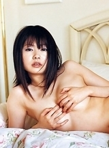 Akina Suzuki with such hot behind shows some juicy boobs